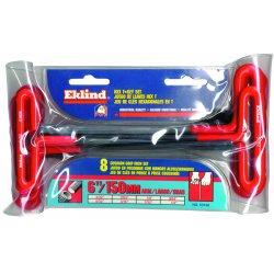 Eklind Tool - 53168 - Eklind Wrench - Black - Alloy Steel - Heat Treated, Rust Resistant, Cushion Grip - 8 Each
