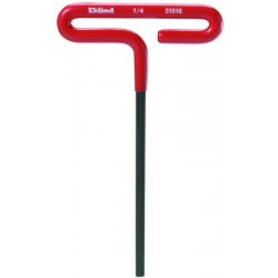 "Eklind Tool - 54660 - 6mm X 6"" T-handle Hex Key W/cushion G, Ea"