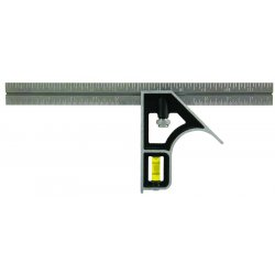 "Empire Level - 240 - Unitek Combination Square 12"" Blade, Ea"