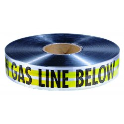 "Empire Level - 31-140 - 2""x1000' Yellow Cautiongas Line Below Tape, Ea"