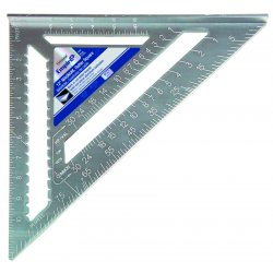 "Empire Level - 3990 - 12"" Heavy Duty Magnum Rafter Square With Manual, Ea"