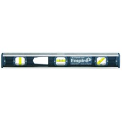 Empire Level - 581-18 - Empire Level Unitek 581 Series 18' Aluminum Magnetic I-Beam Level With 45 Vial