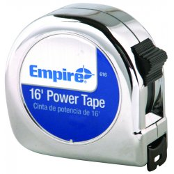 "Empire Level - 616 - 3/4""x16' Power Tape, Ea"