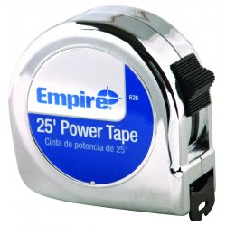 "Empire Level - 626 - Dwos 00626 1""x25' Power Measuring Tape"