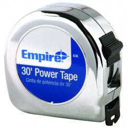"Empire Level - 636 - 00636 1""x30' Power Tapemeasure, Ea"