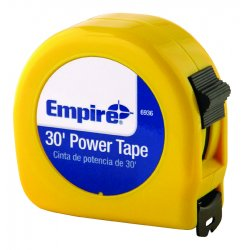 "Empire Level - 6936 - 1""x30' Power Measuring Tape W/neon Yell, Ea"