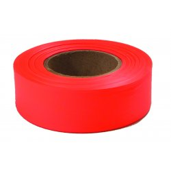 "Empire Level - 77-002 - 77002 Glo-orange 1""x200'plastic Flagging Tape"