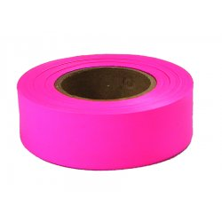 "Empire Level - 77-003 - 77003 Glo Pink 1""x200' Plastic Flaggig Tape"