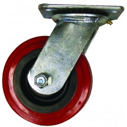 EZ Roll - EZ-0620-MOPP-S-SB - 6in Swivel Caster w Brake, EA