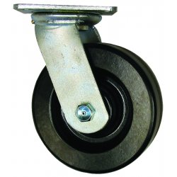 "EZ Roll - EZ-0620-PH-S-SB - 6"" Whl. Dia. Swivel Caster W/whl. Brake 900lb Ca, Ea"