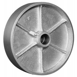 "EZ Roll - WEZ-0620-STR - 6""x2"" Steel Wheel 1/2""i.d., Ea"