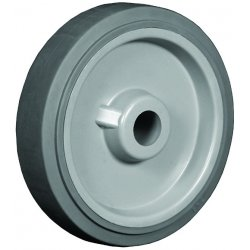 "EZ Roll - WEZ-0820-RGTR - 8""x2"" Round Excel Plus Tread Wheel- Poly Core Wh"