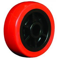 "EZ Roll - WZ-40-MOPP - 4""x1.25"" Polyurethane Tread Poly Core Wheel 3/, Ea"