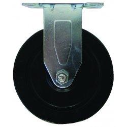 EZ Roll - Z-40-HR-S-SB - 4x1-1/4in hard rubber swivel w/brake, EA