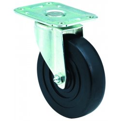 E.R. Wagner - 1F93070040001AT - 2-1/2x1-1/8 Light-Med Dty AT Plate Rigid Caster, EA