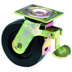 E.R. Wagner - 1FA8E8438007D90 - 8x2 Hvy Duty 90 Plate Swivel Total-Lock Caster, EA