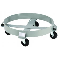 E.R. Wagner - 2F000372590 - 30 Gallon 4 Wheel Drum Dolly, EA