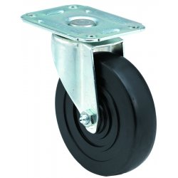 E.R. Wagner - 2F9804027000100 - 4x1-1/4 Light-Med Duty 00 Plate Swivel Caster, EA