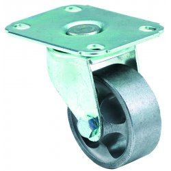 E.R. Wagner - 2F98070110001AM - 2-1/2x1 Light-Med Duty AM Plate Swivel Caster, EA