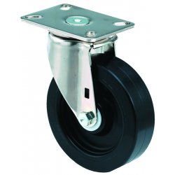 E.R. Wagner - 3F28A4B27000797 - 4x1-3/8 Institutional 97Plate Swivel Caster, EA