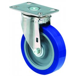 E.R. Wagner - 3F28A5B25000797 - 5x1-1/2 Institutional 97Plate Swivel Caster, EA