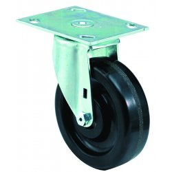E.R. Wagner - 3F28B5438000199 - 5x1-1/2 Institutional 99Plate Swivel Caster, EA
