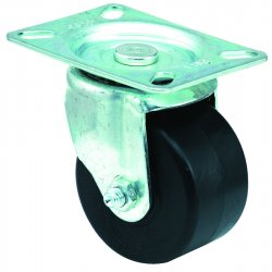 E.R. Wagner - 3F5803438HD0197 - 3x1-3/4 Low Profile 97 Plate Swivel Caster, EA