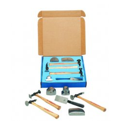Martin Tools - 647K - 7-pc Body & Fender Repair Tool Set-w/woode