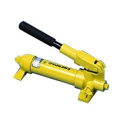 "Enerpac - P18 - 13-1/2"" x 5-1/4"" x 4-1/2"" 1 Stage Hydraulic Hand Pump"