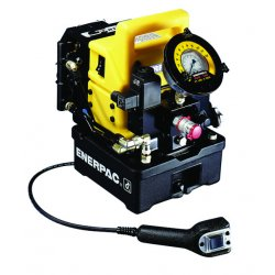 Enerpac - PMU10427 - Torque Wrench Hydraulic Electric Pump with 4 Way/2 Position Control Valve