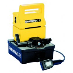 Enerpac - PUJ-1201B - High Force Hydraulic Electric Pump with 3-way, 2-position, For Advance/Release of Cylinder Control V