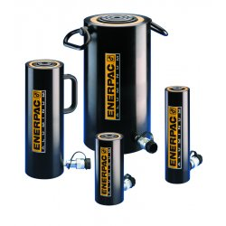 "Enerpac - RAC204 - 20 tons Single Acting General Purpose Aluminum Hydraulic Cylinder, 3-15/16"" Stroke Length"
