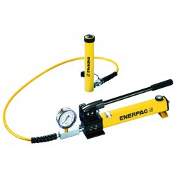 "Enerpac - SCR-156H - 80369 Hand Pump With 6""15 Ton Cylinder, Ea"