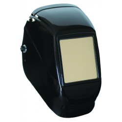 Fibre-Metal - 2090BK - Passive Welding Helmet, Black, Black Titan, 10 Lens Shade