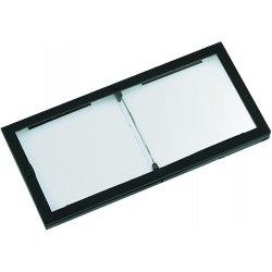 "Fibre-Metal - 3651.00 - Dwos Magnifier 1.0 Diopters 2""x4-1/4"" Polycarbon"
