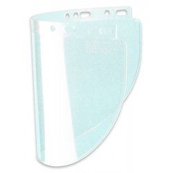 "Fibre-Metal - 4118CL - .060"" 8""x11-1/4"" Clear Sd View Faceshield"