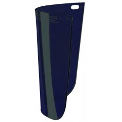 "Fibre-Metal - 4118DGN - .060"" 8""x11-1/4"" Dark Gren Std View Faceshield"