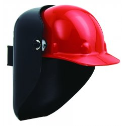 Fibre-Metal - 5910SR - Welding Helmet Shell Silver W/500 Mounting Loop