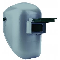 Fibre-Metal - 906GY - Passive Welding Helmet, Gray, Tigerhood Classic, 10 Lens Shade