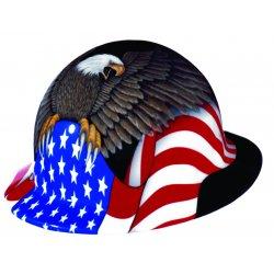 Fibre-Metal - E1RW00A006 - Hat- Spirit Of Americathermoplastic