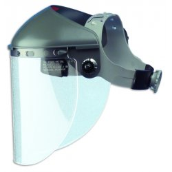 Fibre-Metal - F400 - High Performance Faceshield Less Window W/4""