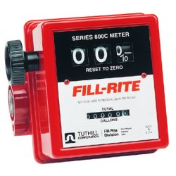 "Fill-Rite - 807C1 - 1"" In-line Flow Meter20gpm Serie"
