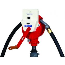 Fill-Rite - FR112C - Fill-Rite FR112C 3/4-Inch x 8-Foot 10 GPM Nozzle Spout Rotary Hand Pump