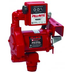 Fill-Rite - FR701V - 1/3 HP Cast Iron Rotary Vane Manual Fuel Transfer Pump, 20 GPM, 115VAC