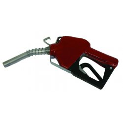 Fill-Rite - N075UAU10 - Fill-Rite N075UAU10 3/4-Inch Unleaded Spout Red Cover Hook and Spring Nozzle