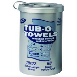 Gasoila Chemicals - TW90 - Tub O'towels Hand/hard Surface 90 Ct