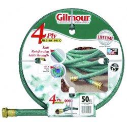 """Gilmour - 15-58050 - 5/8""""x50' Garden Hose Green Reinf, Ea"""
