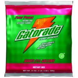 Gatorade - 308-03808 - Fruit Punch Powder Sports Drink Mix, Package Size: 8.5 oz., Yield: 1 gal., 1 EA