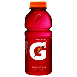 Gatorade - 32488 - Riptide Rush Ready to Drink Sports Drink, Package Size: 20 oz., 24 PK