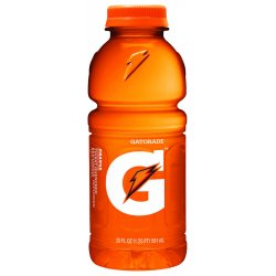 Gatorade - 32867 - Orange Ready to Drink Sports Drink, Package Size: 20 oz., 24 PK